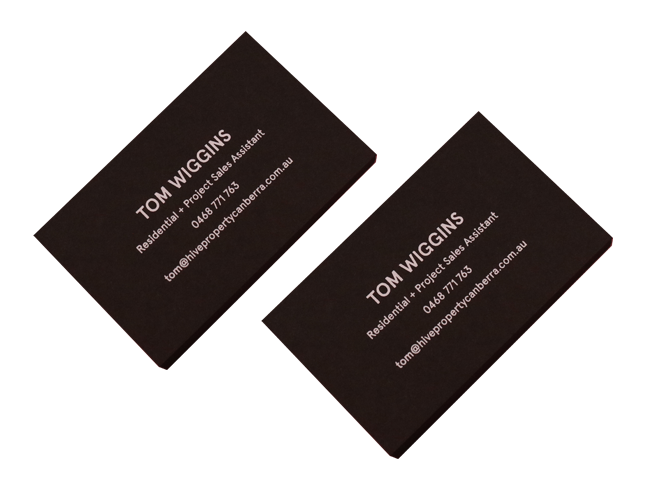 Black Business Cards