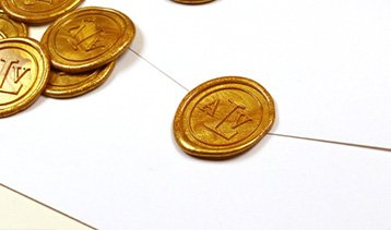 WAX SEAL STICKERS <span>Going back to more classic and vintage?</span>